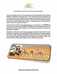 Get A Best Taxi Services For Travel In Rajasthan