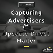 Capturing Advertisers for Upscale Direct Mailer