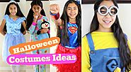 Halloween Costumes Ideas Cinderella Super Girl Snow White Minion Rainbow Dash|B2cutecupcakes