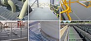 FRP Grating Panel System for Industries