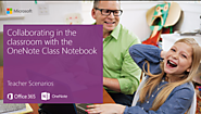 Collaborating in the classroom with the OneNote Class Notebook Creator