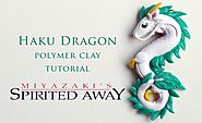 DIY Spirited Away Haku Dragon Polymer Clay Tutorial