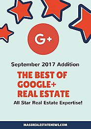 Top Google+ Real Estate Articles September 2017