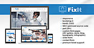 FixIt - computer, gadget repair website template