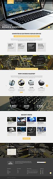 Computer Repair - Wordpress template