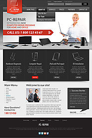 Joomla template for Computer Repair v2.5