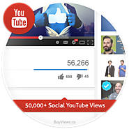 50,000 Social YouTube Views Plan – BuyViews