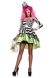 Leg Avenue Women's Deliriously Mad Hatter