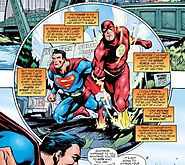 DC Comics: How can the consequences of the Flash's speed steal be physically explained?