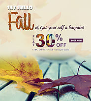 Fall Wedding Cards Sale | Wedding Invitations Offers | A2zWeddingCards