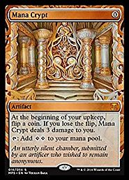 Magic: the Gathering - Mana Crypt (016/054) - Masterpiece Series: Kaladesh Inventions - Foil