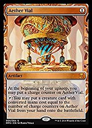 Magic: the Gathering - Aether Vial (006/054) - Masterpiece Series: Kaladesh Inventions - Foil