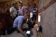 In Egypt, Debate Rages Over Scans of King Tut's Tomb