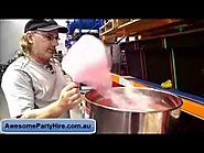 Go For A Fairy Floss Machine Hire In Melbourne