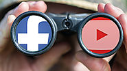How many videos top publishers post daily to Facebook, YouTube