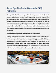 Swim Spa Dealer in Columbia, SC Palmetto | edocr