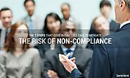 The 7 Steps That Good Businesses Take to Mitigate the Risk of Non-Compliance
