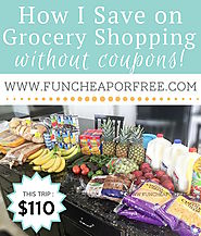 How I Grocery Shop - Fun Cheap or Free