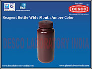 Reagent Bottle Wide Mouth Amber Colour | DESCO