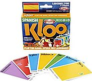 KLOO's Learn to Speak Spanish Language Card Games Pack 1 (Decks 1 & 2)