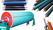 Rubber Roller, Textile Rubber Rollers, Krishna Engineering Works