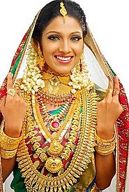 Bridal jewelry sets gold
