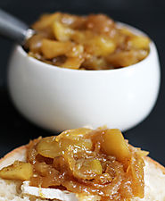 Apple and Caramelized Onion Chutney