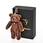 Bear Gentleman 130dB Personal Alarm Self Defense Rape Attack Safety Security with Keychain