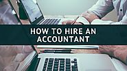 Hire an Accountant | Choosing an accountant