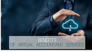 What are the top 4 benefits of Virtual Accountant Services?