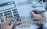 How To Make Your Bookkeeping Services Online?