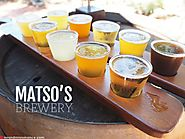 Relish Delicious Beer at Broome's Matso's Brewery