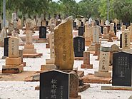 Take a stroll in Broome's Japanese Cemetery.