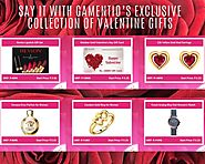 Say it with Gamentio's Exclusive Collection of Valentine Gifts