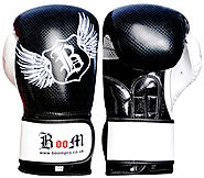 BOOM Pro Boxing Gloves,MMA,Sparring Punch Bag,Muay Thai Training Gloves