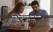 Long Term Loans Bad Credit- Funds For Longer Time