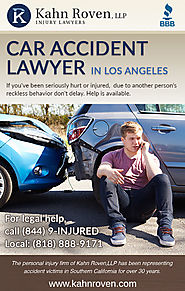 Kahn Roven, LLP| Injury Lawyers, Auto Accidents Attorney Los Angeles