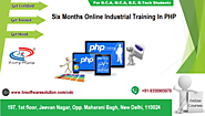 Live Project Training in PHP, final Year Students Delhi, India