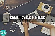 Same Day Cash Loans- Easy Cash Support for Small Financial Expenses