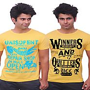 Unisopent Designs Customize Printed T-shirt for Men