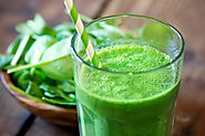 "Healthy ""Thin Mint"" Smoothie"