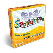 Spontuneous - The Song Game - Sing It or Shout It - Talent NOT Required (Best Family / Party Board Games for Kids, Te...