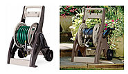 The Suncast Hosemobile Garden Hose Reel Cart