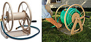 Liberty Garden Products 3-in-1 Garden Hose Reel
