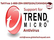 Trend Micro Antivirus Support| Toll Free: 1-800-294-5907