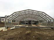 Swimming Pool Enclosure Oasis| Swim Under Dome | Pool Enclosure