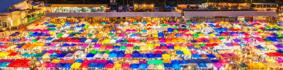 Headline for Bangkok's Coolest Shopping destinations at night – Best After Hours Shopping Options