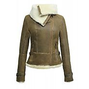 Womens Leather Jackets, Coats and Shearling Sheepskin Flying Jackets | BRANDSLOCK UK