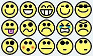 """Smileys"", by Clker-Free-Vector-Images in https://pixabay.com"