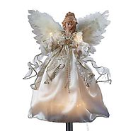 Lighted Christmas Angel Tree Toppers